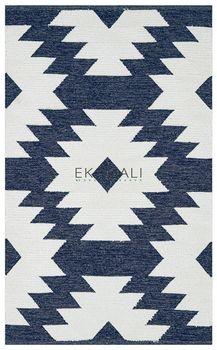 купить Ковёр ручной работы E-H AFRO KILIM, AFR 01 NAVY WHITE 80*150 в Кишинёве