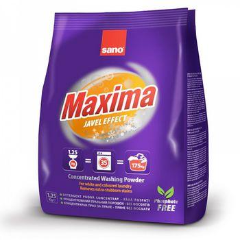 купить Sano Maxima Javel Стиральный порошок (1.25кг) 288109 в Кишинёве