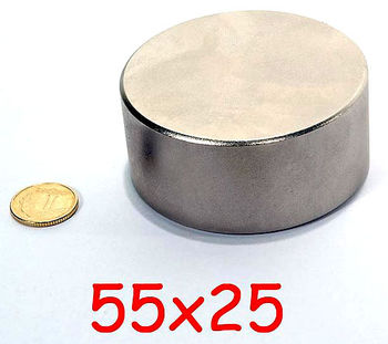 Магнит Ø D55 mm х H25 mm