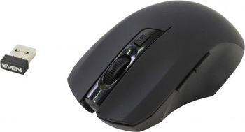 купить SVEN RX-350, Optical Mouse, 1200-1600 dpi Black в Кишинёве