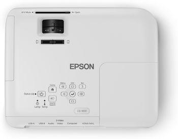 """купить WXGA LCD Projector Epson EB-W31, 3200Lum, 15000:1, WXGA (1200х800), LCD: 3 х 0.59"""" P-Si TFT Яркий проектор для бизнеса и образования в Кишинёве"""