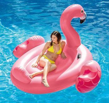 купить Intex надувной плотик большой Фламинго 203x196x124 см в Кишинёве