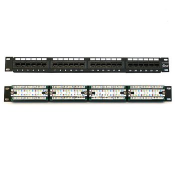 купить Patch Panel 24 port CAT5E в Кишинёве