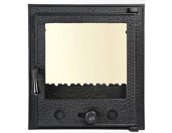 Дверца чугунная со стеклом Weekend - Olimpic mini