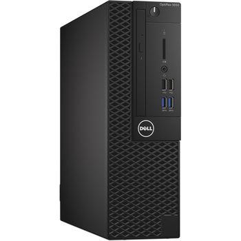 cumpără DELL OptiPlex 3050 MFF + Win7/10 Pro lntel® Core® i3-6100T (Dual Core, 3.20GHz, 3MB), 4GB DDR4 RAM, 256GB M.2 SSD, no ODD, InteI® HD530 Graphics, 65W PSU, USB mouse, USB KB216-B, Win 7 Pro (Win 10 Pro), Black în Chișinău