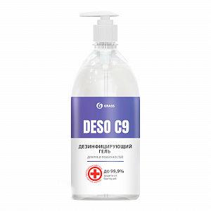 Дезинфицирующее средство на основе изопропилового спирта DESO C9 гель 1000 мл