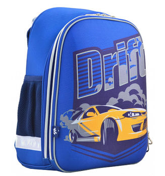 Школьный каркасный рюкзак 1 вересня H-12-2 554605 16 л Синий