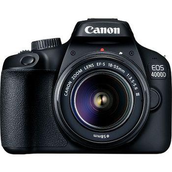 DC Canon EOS 4000D Bk & EF-S 18-55 IS III