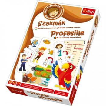 01202 Trefl Game-Little Explorer - Professions HU RO