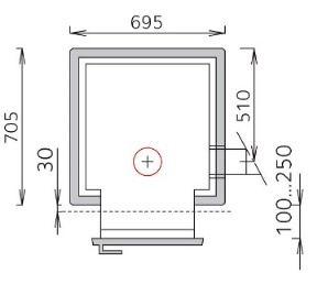 Печь для бани дровяная - Tulikivi TK 550/3 (SS873)
