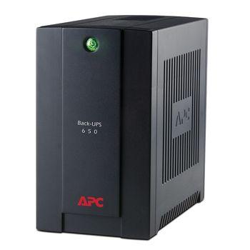 APC BX650CI Back UPS 650VA/390Watts, line-interactive, 4 computer outlet IEC-320-C13, AVR