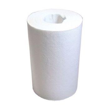 Бумажные полотенца с центральной вытяжкой белые 2 слоя 70 м