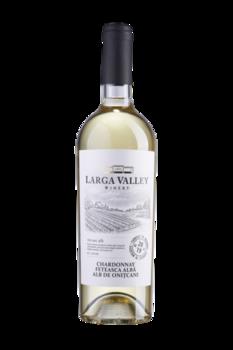Вино Шардоне и Фетяска Албэ Larga Valley,  0.75л