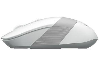Wireless Mouse A4Tech FG10, White/Grey