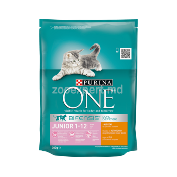 купить Purina One Junior Chicken 200 gr в Кишинёве