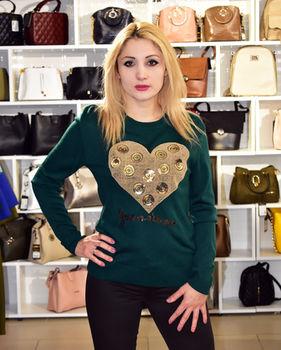 купить Cвитер  сердечка в Кишинёве