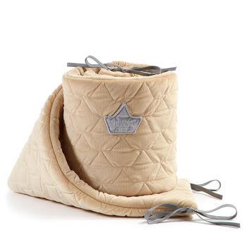 купить Бортики в кроватку LaMillou Velvet Collection Vanilla в Кишинёве