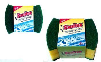 купить Губки для уборки Sanitex Scrubber Sponges 2 шт в Кишинёве