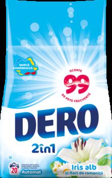 купить Dero 2in1 Белый Ирис и Ромашка, 2 кг. в Кишинёве