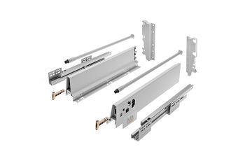 Modern Box gri L-450 H-210 deschidere totală cu amortizor
