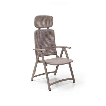 Кресло складное Nardi ACQUAMARINA TORTORA 40314.10.000 (Кресло складное для сада и террасы)