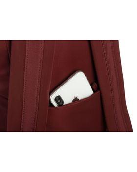 "13.3"" Рюкзак для ноутбука Tucano Flat Slim M, Burgundy"