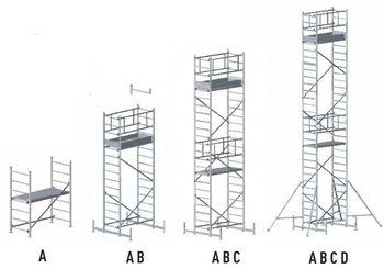 купить Передвижная модульная вышка Z300 (Модуль A+B+C) в Кишинёве