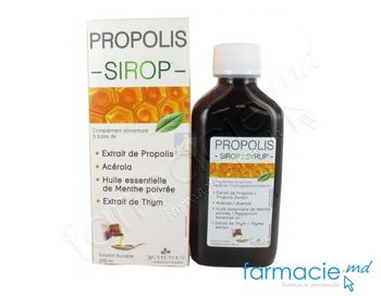 купить Propolis Bio sirop 200ml (3Chenes) в Кишинёве