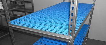 купить Стеллаж металлический с пластиковой плитой Moduline 900x505x1830 мм, 6 полок/PLB в Кишинёве