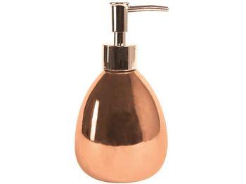 Диспенсер для жидкого мыла Kymi цвет бронза, керамика