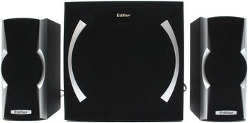 "Edifier X600 Black, 2.1/ 14W+ 2x8W RMS, all wooden, (sub.6,5""+satl.(3""+3/4""))"