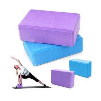 купить Блок для йоги опорный (673) Orange в Кишинёве