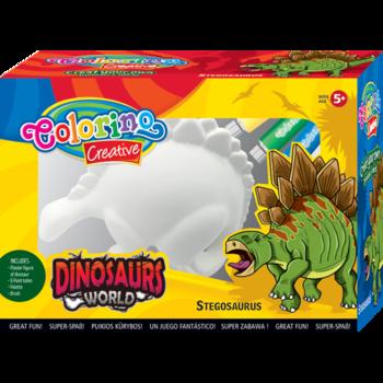 Гипсовая фигурка Динозавр Colorino