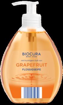 Жидкое крем-мыло для рук Biocura Cremeseife Грейпфрут, 500 мл