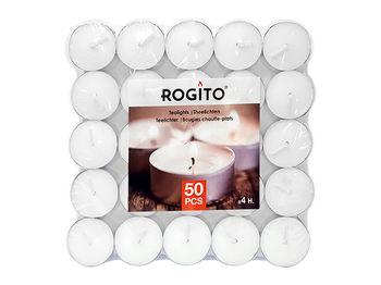 Свечи чайные 50шт D3.8cm, 4часа