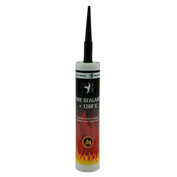 Den Braven Герметик Fire Sealant Черный 280мл