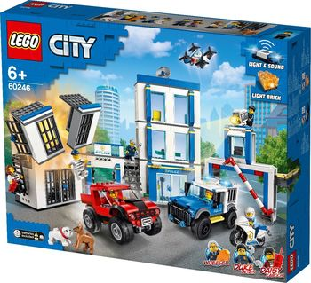 LEGO City Полицейский участок, арт. 60246