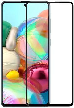 Sticlă de protecție Cover'X pentru Samsung A71 3D Full Covered Black