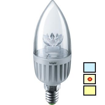 купить (S) LED (7Wt) NLL-C37-7-230-4K-E14-CL в Кишинёве