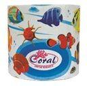 Бумага туалетная  Coral макулатур.