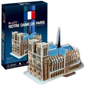 """CubicFun 3D пазл """"Notre Dame de Paris(France)""""   (39 деталей)"""
