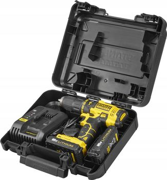 купить Аккумуляторная дрель-шуруповерт Stanley FatMax FMC626C2K в Кишинёве