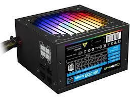 Блок питания ATX 700W GAMEMAX GE-700, 80+, Active PFC, 120mm fan, Retail