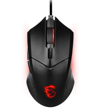 Mouse Gaming MSI Clutch GM08 GAMING Mouse, PAW-3519 Sensor, Switch with 10+ Million Clicks, Resolution:200–3200 dpi (mouse/мышь)