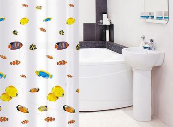 купить Tatkraft BLUE LAGOON штора для ванной 14039 в Кишинёве