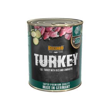 Belcando Turkey индейка с рисом и цуккини  800 gr
