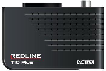 купить Redline T10 Plus эфирный цифровои + Кабельный + IPTV ресивер в Кишинёве