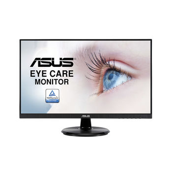 "Monitor 23.8"" ASUS VA24DQ IPS Frameless 75Hz Monitor WIDE 16:9, 0.2745, 5ms, 75Hz refresh rate with Adaptive-Sync, ASUS Smart Contrast 100,000,000:1, Speakers 2Wx2, H:30-85kHz, V:48-75Hz, 1920x1080 Full HD, HDMI/D-Sub/Display Port, TCO03 (monitor/монитор)"