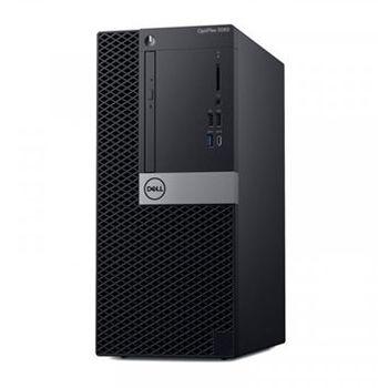 DELL OptiPlex 5060 MT lnteI® Core® i7-8700 (Six Core, up to 4.60GHz, 12MB), 8GB DDR4 RAM, 256GB SSD, DVD-RW, lnteI® UHD630 Graphics, TPM, 260W PSU, USB mouse, USB KB216-B, Ubuntu, Black