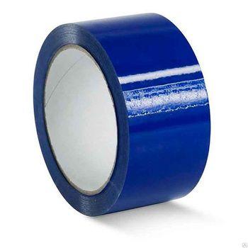 Скотч Packing Tape BLUE 48 мм / 45 мк / 180 м